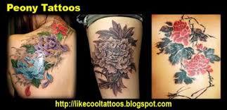 symbolic meaning of peony tattoos like cool tattoos