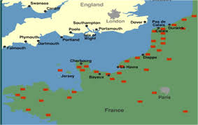 Calais France Map by Dday Maps The History Rat