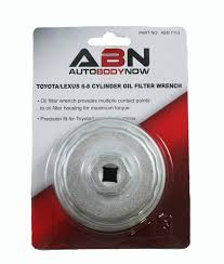 toyota lexus accessories amazon com abn 6 8 cylinder oil filter wrench for 2 5l to 5 7l