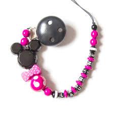 perle en bois pour attache tetine attache sucette à personnaliser modèle