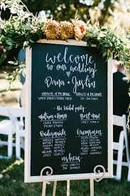 chalkboard wedding program template chalkboard wedding program 23x35 rustic by chalkfulloflove
