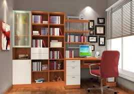 Computer Desk With Bookcase by Desk Bookshelf Combo Best Home Furniture Decoration