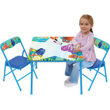 Play Table With Storage And Chairs Disney Finding Dory Erasable Activity Table Set With 3 Erasable