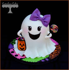 halloween party cake ideas girly ghost cake for halloween www facebook com i love cuteology