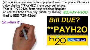 Verizon Wireless Customer Service Representative Salary Pay H2o Wireless By Phone Dial Payh2o Youtube