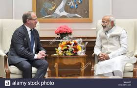 volvo group indian prime minister narendra modi during a meeting with volvo