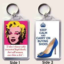 Unique Key Ring Unique Keyring With A Marilyn Monroe Quote U0026 Keep Calm And Carry