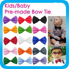 boys bow tie children toddlers pre wedding bowtie