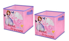 Childrens Bedroom Rugs Uk Amazon Com Disney Sofia The First Storage Cubes Set Of 2 10