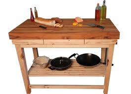 butcher block kitchen island table kitchen butcher block kitchen island hickory mcclure idea butcher