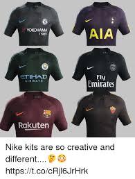 Nike Memes - yokohama tyres aia ar etihad airways fly emirates roma rakutern nike