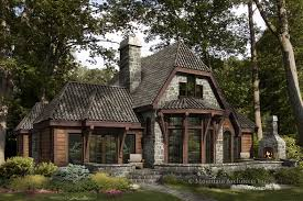 Luxury Log Cabin Floor Plans The Chaumont Log Home Floor Plan Mountain Architects