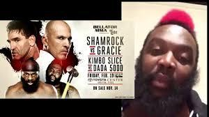 dada 5000 on fighting kimbo slice in bellator mma youtube