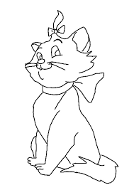 drawing marie aristocats coloring pages bulk color