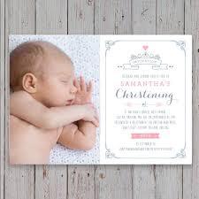 Invitation Card Design Christening Boys Christening Invitations Ebay
