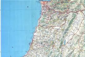 Map Of Lebanon Maps Of Lebanon