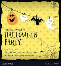 halloween halloween party invitations templates to inspire you