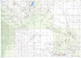 Ord Map Download Topographic Map In Area Of Alice Springs Elkedra