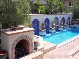 Swimming Pool Decorating Ideas Simple Poolside Bar Ideas With - Great backyard pool designs