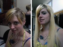 extensions on very very short hair hair extensions damage no problem new hair system