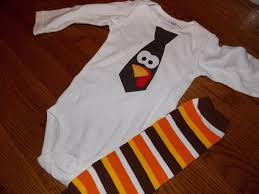 infant toddler boys thanksgiving turkey tie applique onesie white