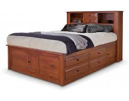 Bed Bookcase Headboard Trend Captains Bed Bookcase Headboard 63 In New Design Headboards
