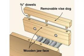 bench vise for woodworking every good bench vise deserves a dog