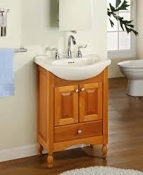 Bamboo Vanity Cabinets Bathroom by Narrow Depth Bathroom Vanity With Sink Bathroom 24