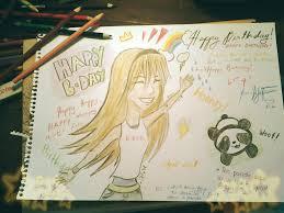 happy birthday card to my best friend by mekikatoka on deviantart