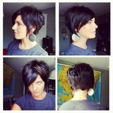 front and back view of short haircuts short haircut back side front view love and sayings