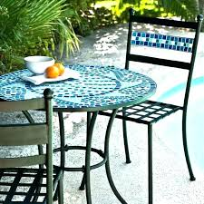 Tile Bistro Table Mosaic Patio Table Mosaic Table Outdoor Mosaic Patio Furniture