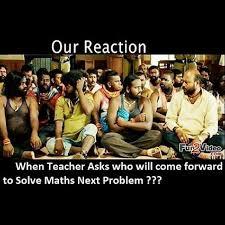 I Volunteer Meme - mathjoke haha humor joke mathmeme meme funny teacher reaction