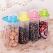 clear kitchen canisters promotion shop for promotional clear 4pcs set kitchen plastic storage canisters large plastic clear containers coffee tea sugar jars 2 5l cereal dispenser