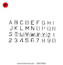 stencil font stock images royalty free images u0026 vectors