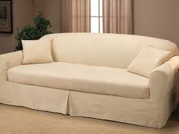 living room sofa sleeper slipcover queen singular glamorous piece