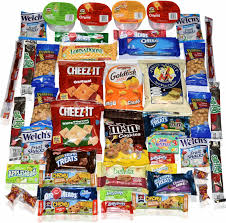 halloween care packages for college students amazon com blue ribbon care package 45 count ultimate sampler