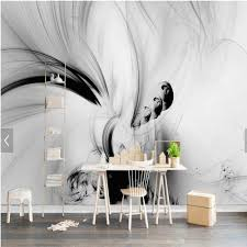 online buy wholesale black white hd wallpaper from china black 3d abstract wall murals black white lines stripe hd photo wall mural paper rolls living roomhome