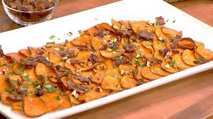 bacon maple pecan sweet potato chips today