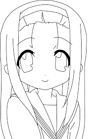 lucky star coloring pages 01a kolorowanka pinterest lucky star