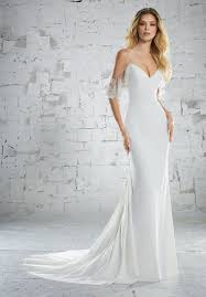 cold shoulder wedding dress mori karlotta style 6883 dress madamebridal