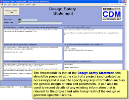 cdm 2015 compliance kit risk assesment for designers ssd