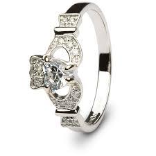claddagh engagement ring claddagh engagement ring sl 14l68wdd