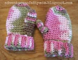 crocheted mittens adventures of a diy mom
