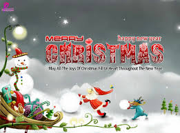 merry and happy holidays cards lights decoration