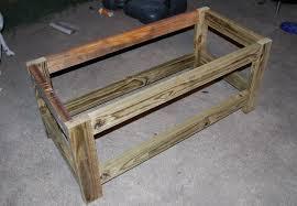 bench stunning wooden outdoor bench seat with storage stunning