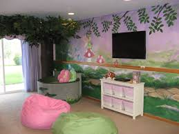 fairy garden make a wish room design playroom with garden mural tree