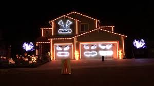 this is halloween riverside light show house 2015 youtube