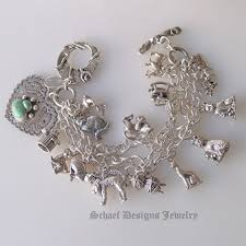 schaef designs turquoise cat paw print cat fancy sterling