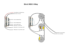 strat hss 5 way wiring diagram