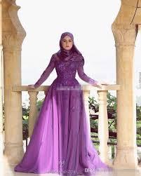 muslim engagement dresses sleeve purple women muslim evening dresses plus size a